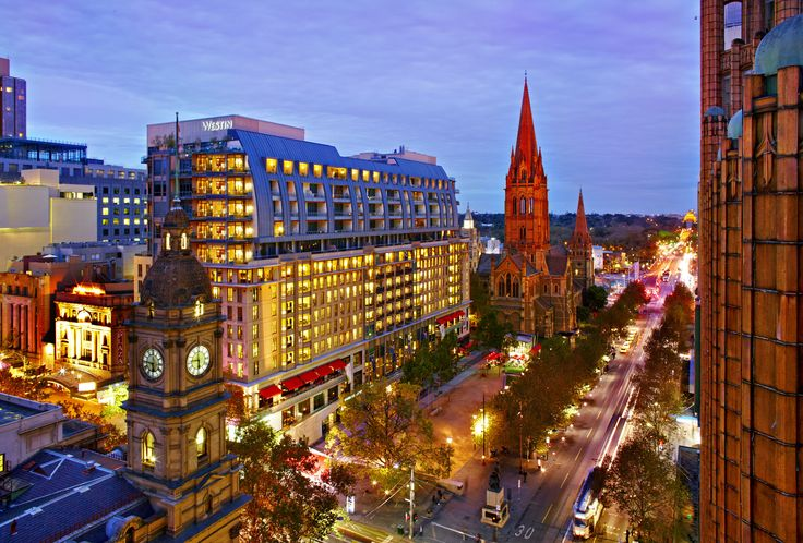 The Westin is perfect for wedding night accommodation! www.westinmelbourne.com