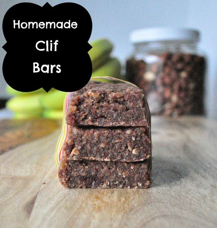Make your own vegan and gluten free Clif Bars easily. This recipe is great as a base and can be customized for any flavor you like!