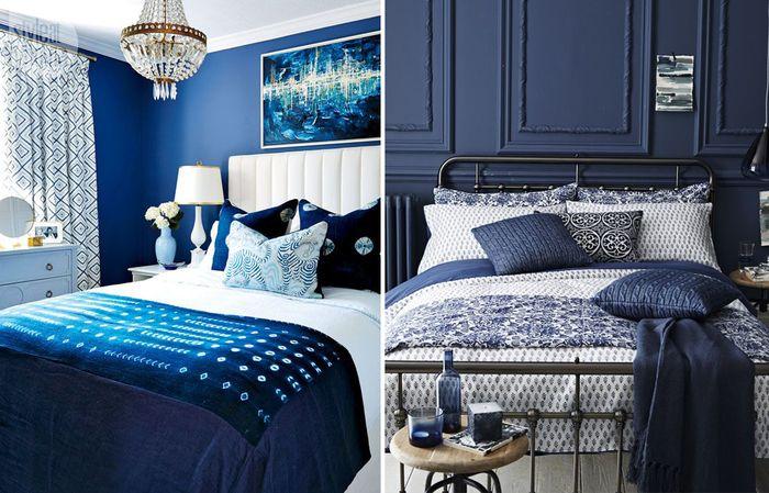 22 прекрасные синие спальни – Вдохновение