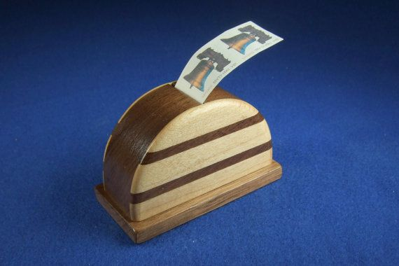 Roll Stamp Dispenser By Woodcraftingbyrobert On Etsy