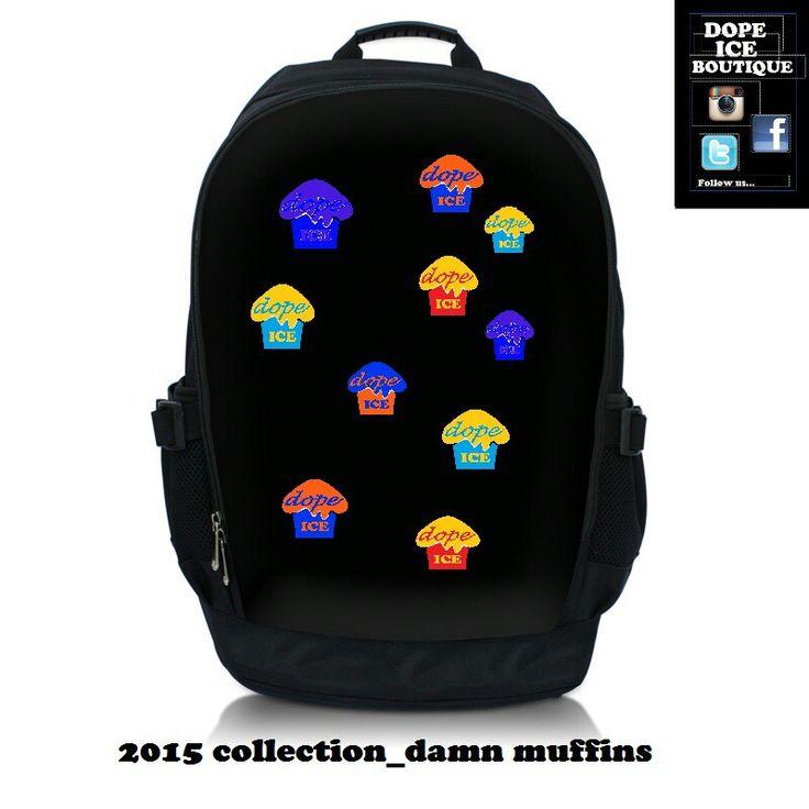 DIB custom backpack 2015 Damn Muffins Edition