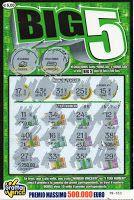Big 5 è uno dei nuovi gratta e vinci da 5 euro introdotti quest'anno. Somiglia abbastanza al Miliardario ma il primo gioco sembra fatto per prendere in giro i più distratti.