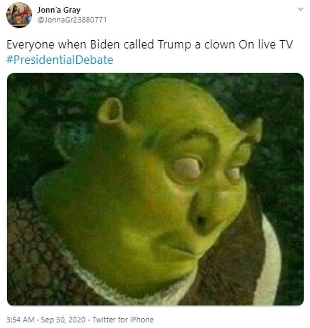 Internet Explodes With Memes During Trump Biden Debate Funny Memes Memes Humor