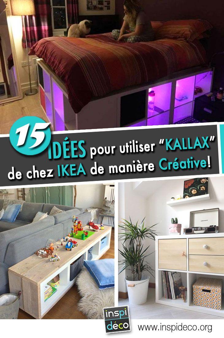 Etageres Kallax De Chez Ikea 15 Bonnes Idees Pour Les Utiliser