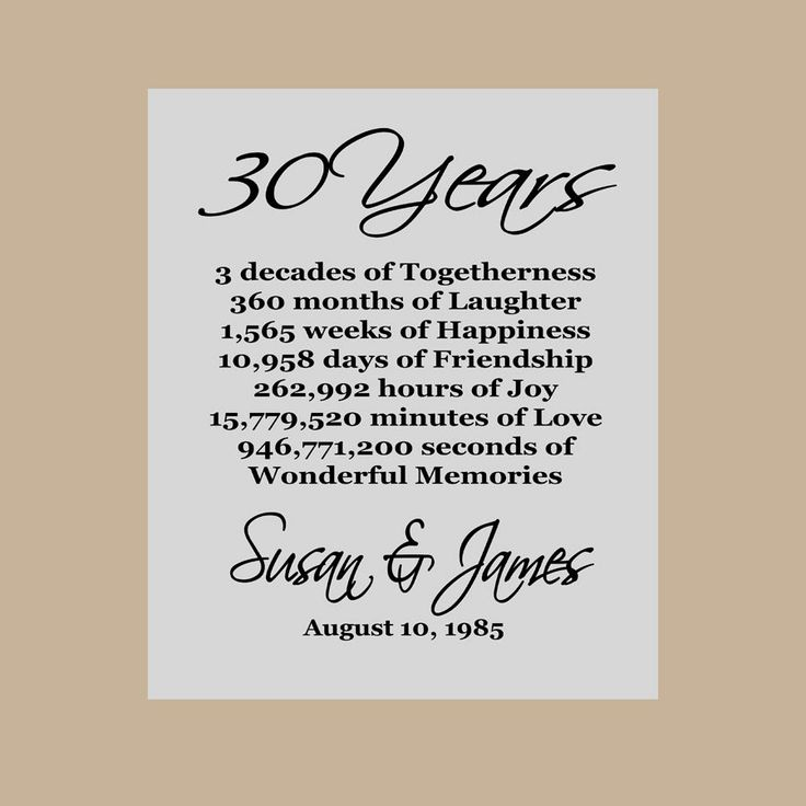 51 Wedding Anniversary Quotes: 1000+ Ideas About 30th Anniversary Parties On Pinterest
