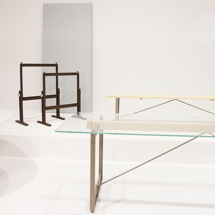 Preview of the Brut collection by Konstantin Grcic for Magis