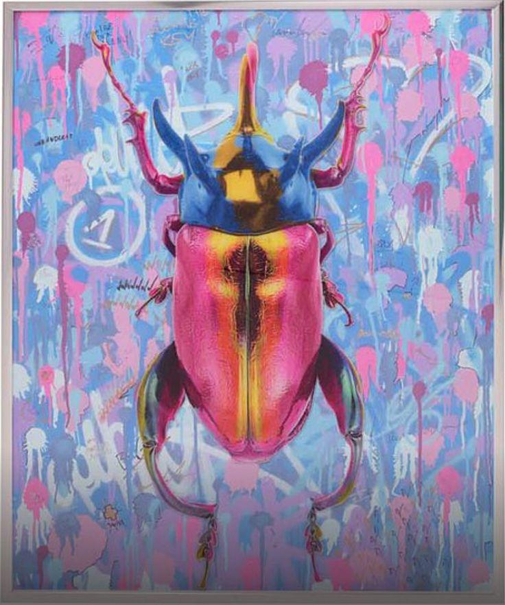 That's Art, Dominic Vonbern, artwork, www.dominicvonbern.com 3mm acrylic, spray, market, pen on canvas