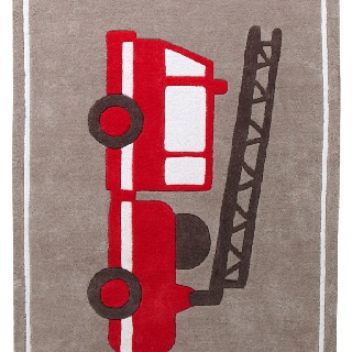 Firefighter Rugs Home Decor