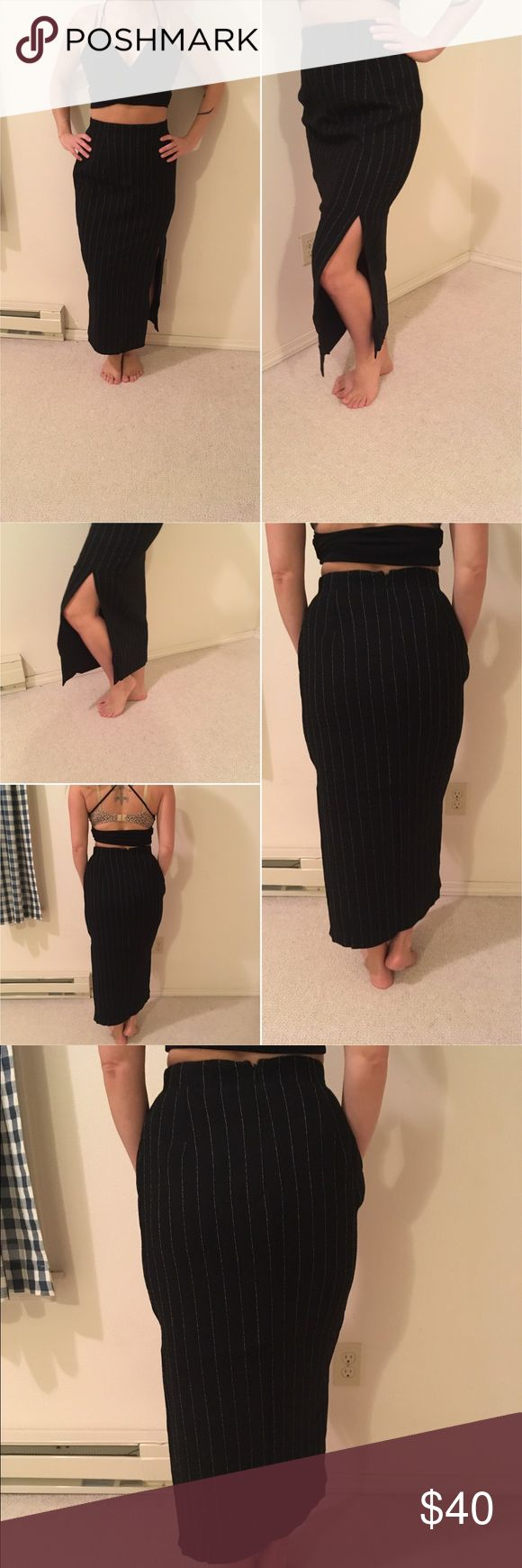 Black dress neiman marcus - Neiman Marcus Black High Waisted Skirt Gently Used Very Good Condition Lining 100