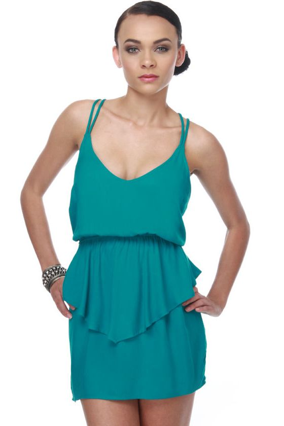Real McCoy Turquoise Dress