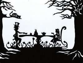 Alice in Silhouette: Mad Tea Party