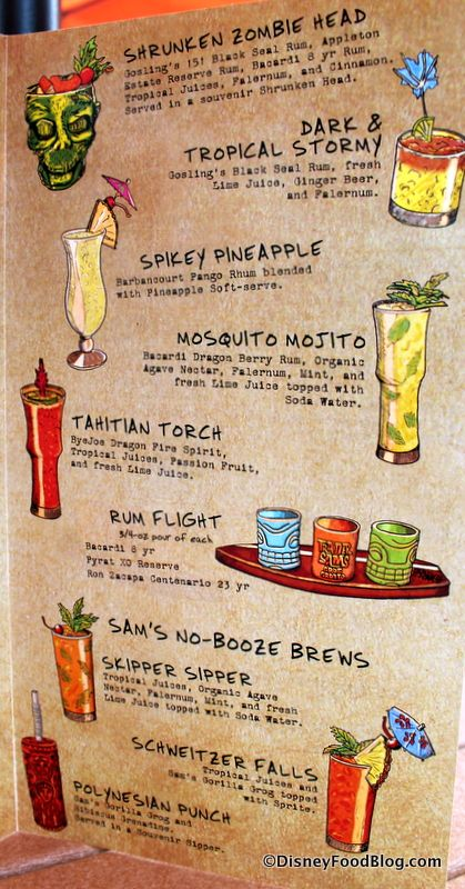 17 best images about tiki drink menus on pinterest for Terrace restaurant menu