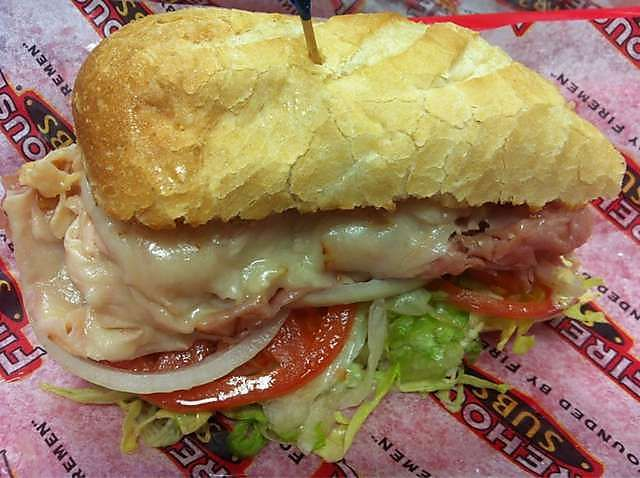 Hook and Ladder Sub - Firehouse subs copycat