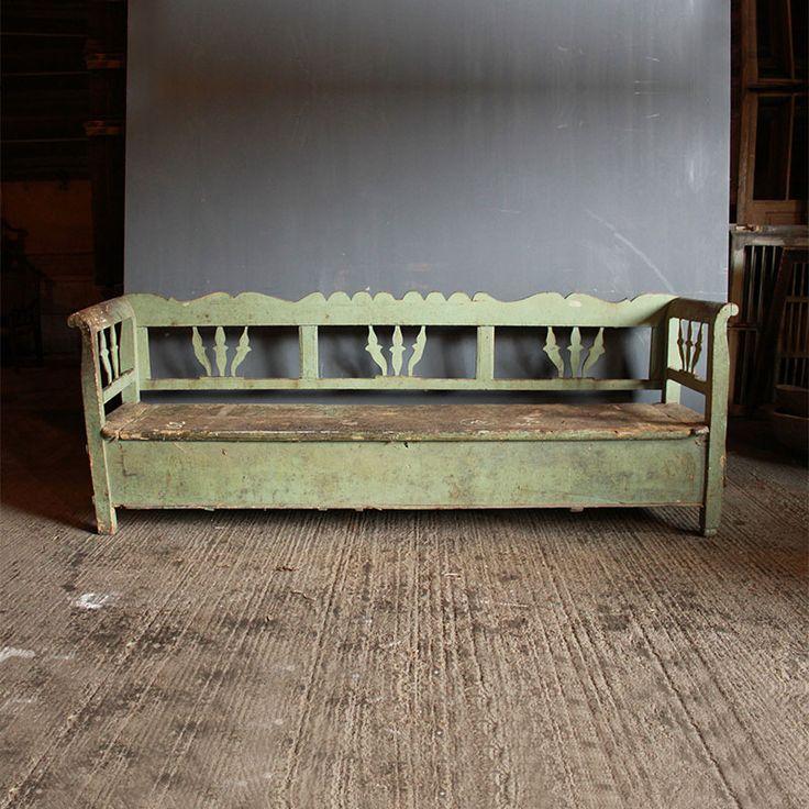 An original painted box bench 76 best