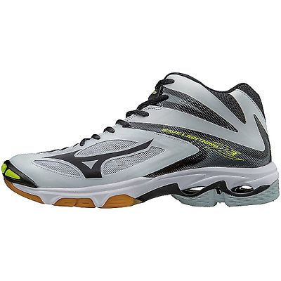 Clothing 159130: Mizuno Wave Lightning Z3 Mid Men Volleyball Shoe White Black -> BUY IT NOW ONLY: $109.5 on eBay!