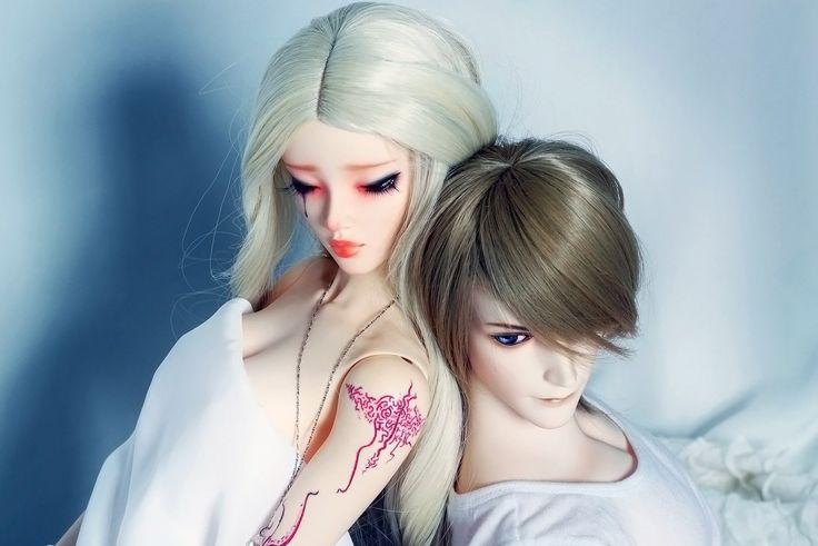 Шарнирные bjd куклы