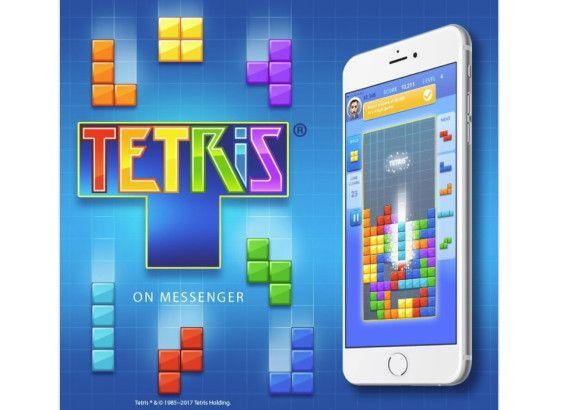 Tetris se lanza como un juego instantáneo en Facebook Messenger
