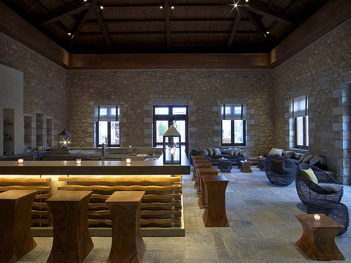 1827 Lounge & Bar: The ancient art of tea service and vodka infusions with marjoram and lavender grown in our own gardens  #Greece #CostaNavarino #Resort #Lounge #Bar #Cocktails