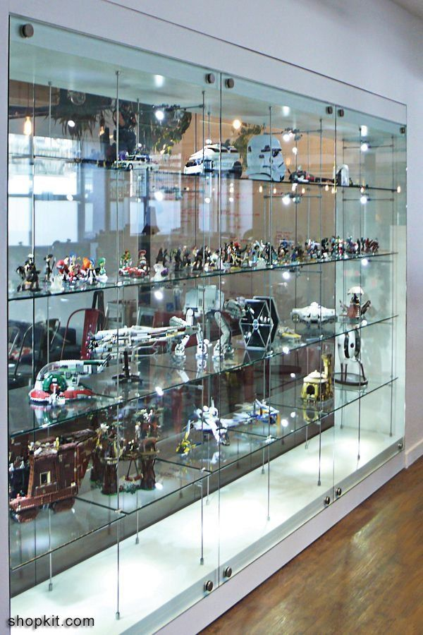 Glass Cabinet Display Wall Room Divider Model Collections Trophy Cabinets Toy Collect Glass Cabinets Display Glass Display Shelves Wall Display Cabinet