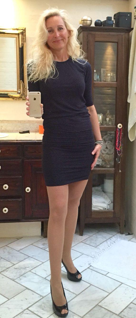 Dress from Moss Copenhagen.  Shoes from Guess.