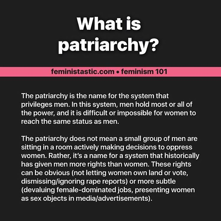 Instagram photo by Intersectional Feminist • Feb 22, 2017 at 1:21 PM | What is Patriarchy?