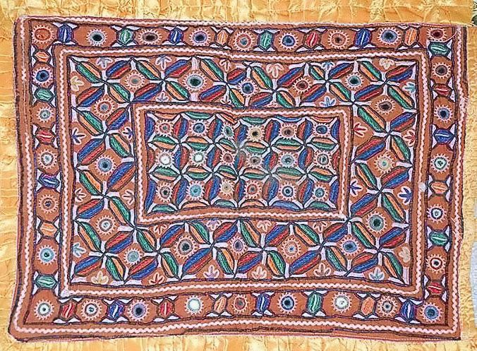 Beautiful Kutchi embroidery