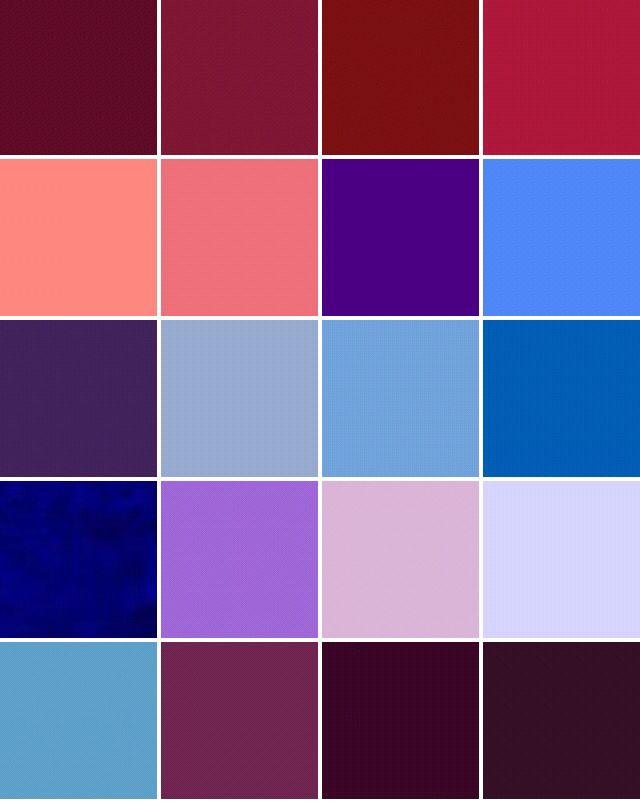 глубокие цвета фото читатели, назовите