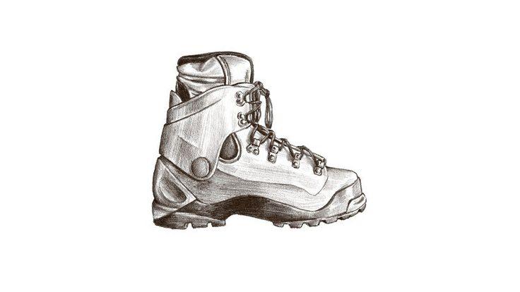 Double Plastic Mountaineering Boot