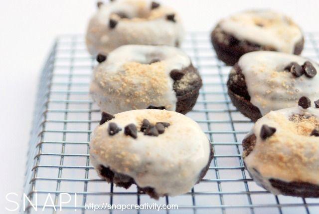 smores mini donut recipe