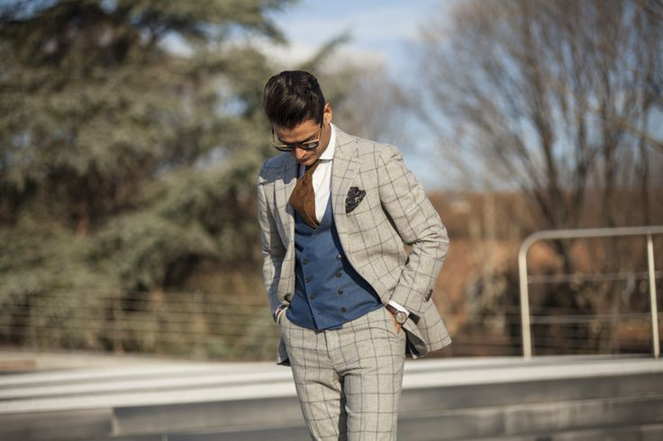 """Fifth picture in Frank Gallucci's blog post """"First day at Pitti""""."""