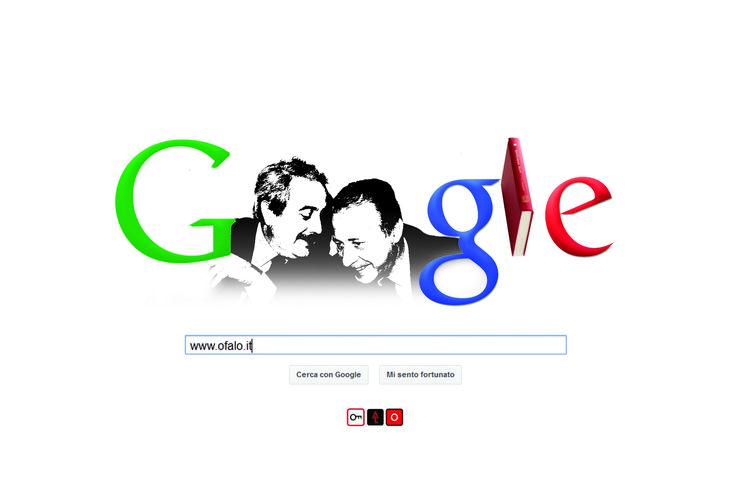 LOST IN DOODLE. Un motore di riserva Falcone e Borsellino. (23 maggio 2012)  Oggi Google ha deciso di omaggiare Robert Moog, il pioniere della musica elettronica e inventore dei sintetizzatori. Speriamo di essere riusciti a sintetizzare bene anche noi, con il NOSTRO doodle, la volontà di commemorare (specialmente oggi) qualcun altro. Non ce ne voglia Google che è avvezzo a celebrare le nascite e non le morti...