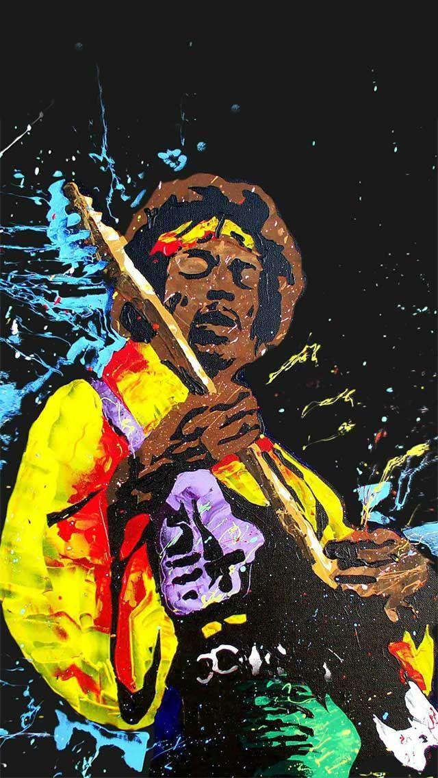 Jimi Hendrix Smartphones Wallpaper
