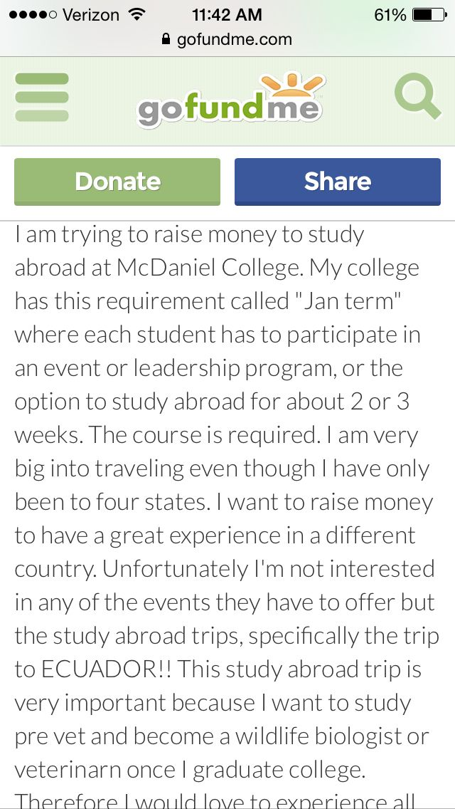 Please GO FUND ME for my college requirements next year at McDaniel college! The link is: gofundme.com/fp2v4ks4  Anything helps!   Even if you don't donate, just repin this for many others to see! Need all the help I can get