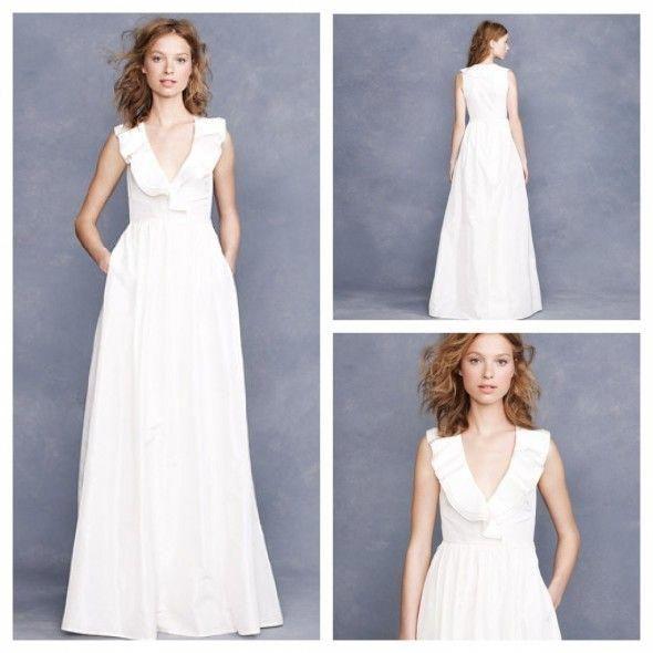 Ask Maggie: J.Crew Wedding Gowns For A Rustic Wedding #jcrewweddingdress
