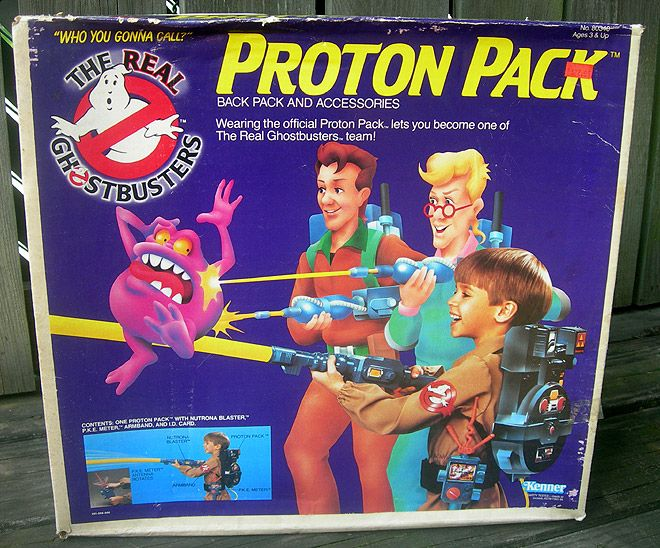 Ghostbusters Proton Pack. You needed the trap to go with this... (sold separately).