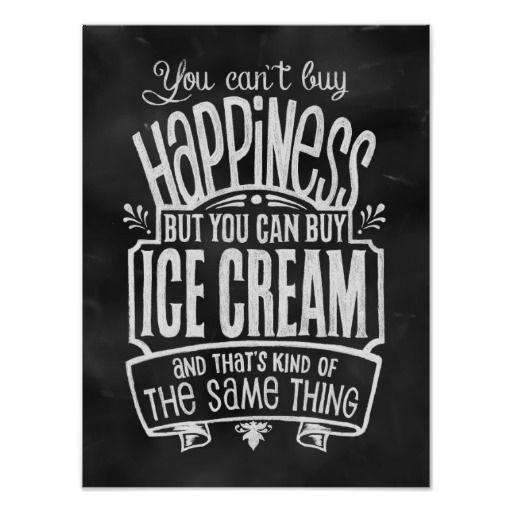 Ice Cream Lover's Poster
