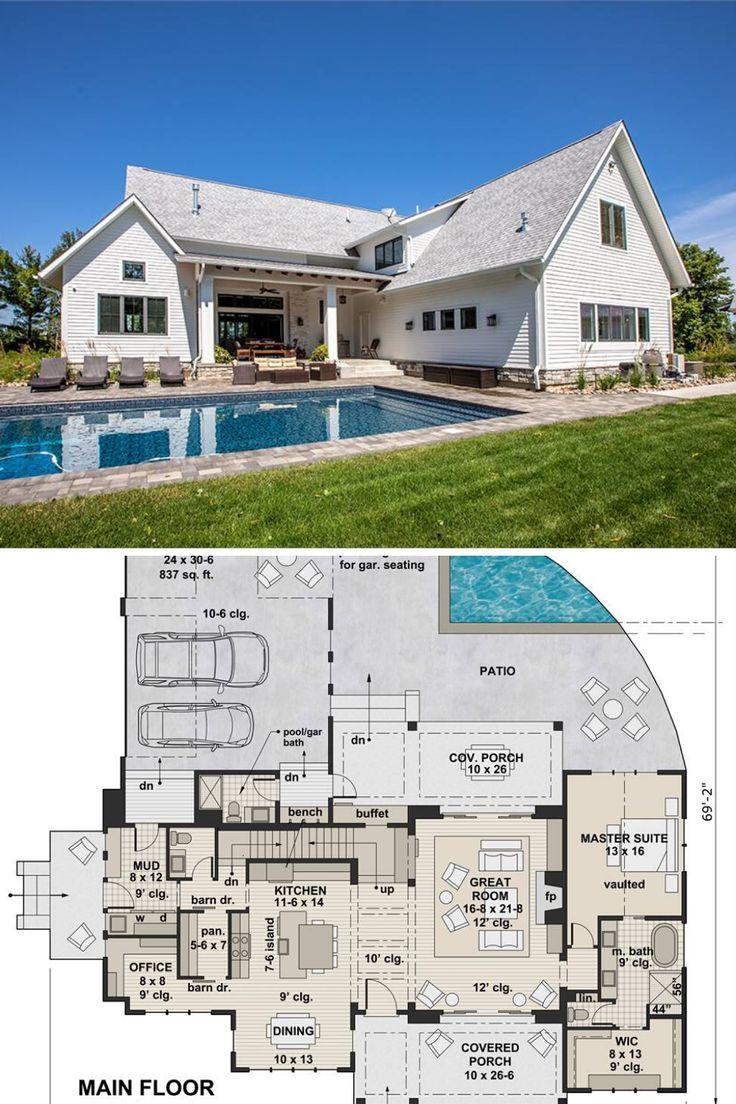 TwoStory 4Bedroom Green Acres Home (Floor Plan) in 2020