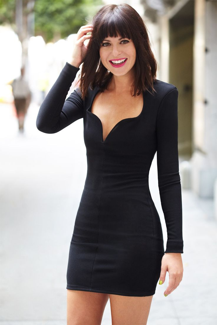 Boys would go nuts for that deep V neckline: