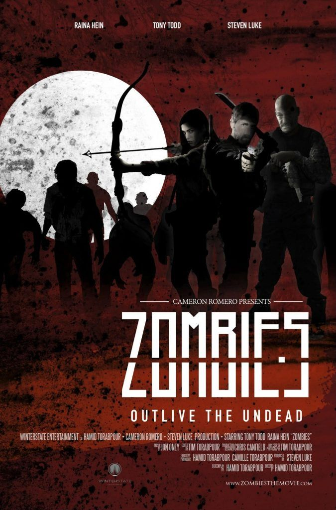 Zombies - Upcoming Horror Movie: Written and directed by Hamid Torabpour comes Zombies (2016), a new action horror film.… #Movie #Horror
