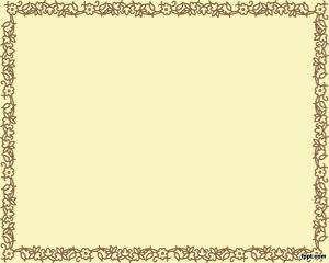 Free Brown Frame PowerPoint with sepia background
