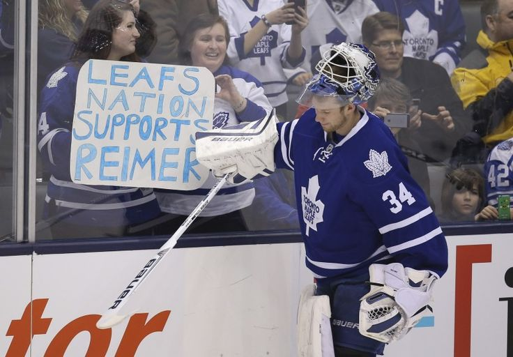 Back in Blue: James Reimer's Fight for the Crease