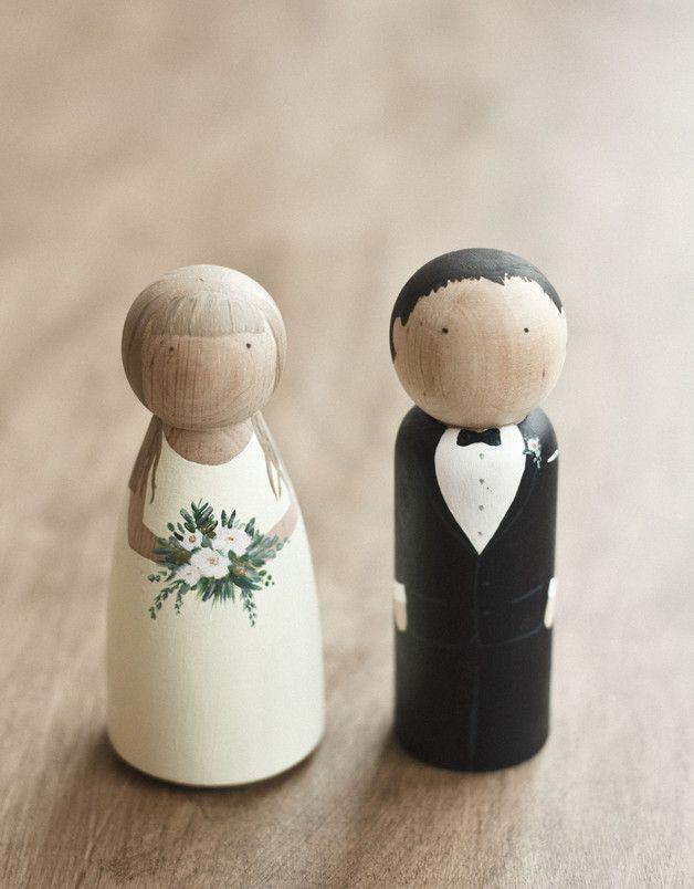 Drewniane figurki na tort - METHOD_SHOP - Akcesoria