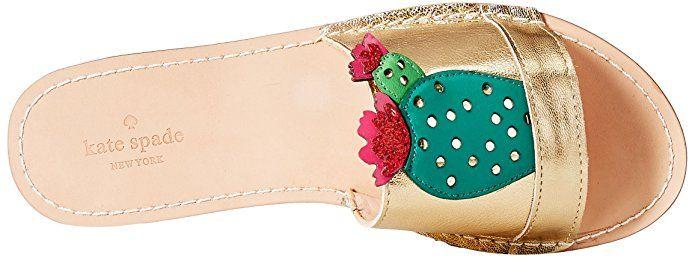 AmazonSmile: kate spade new york Women's Iguana Slide Sandal: Shoes