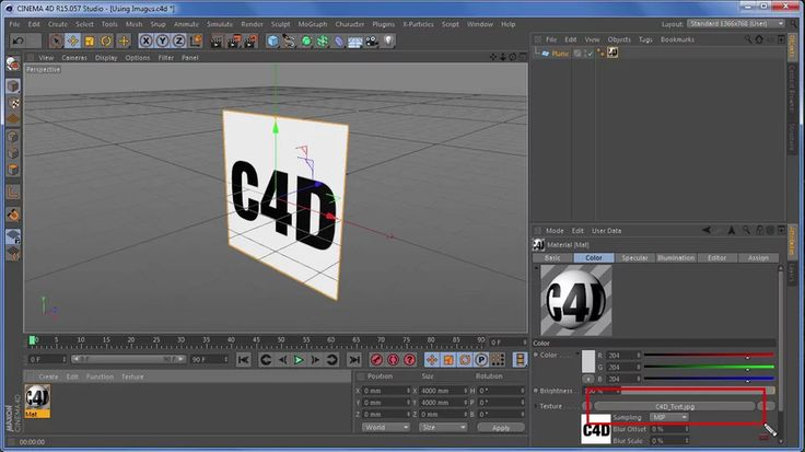 Cinema 4D Using Images in materials on Vimeo