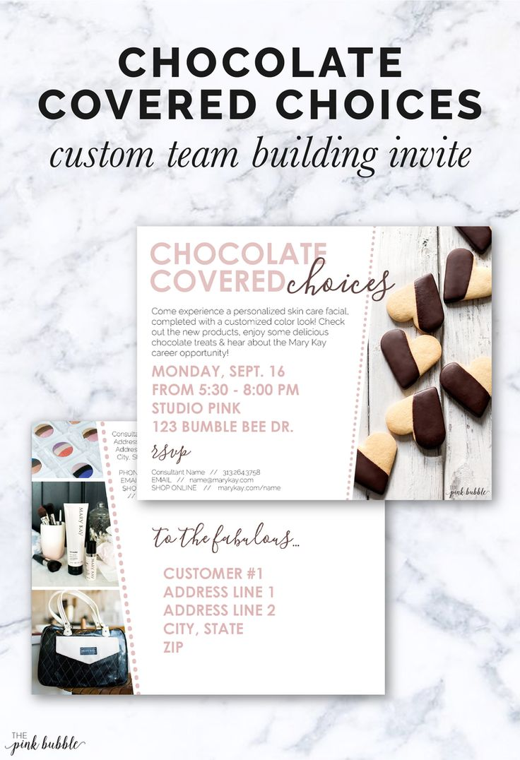 24 best Mary Kay Invitations images – Mary Kay Party Invitation