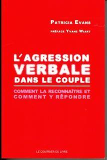 Agression verbale dans le couple,l':comment la reconnaître et comment y répondre