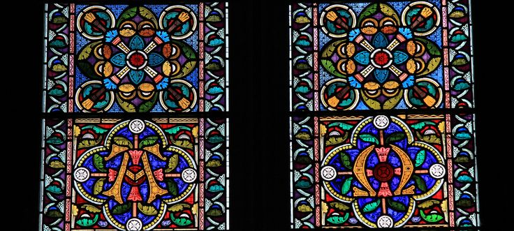 Stained Glass -Christchurch Priory, Dorset