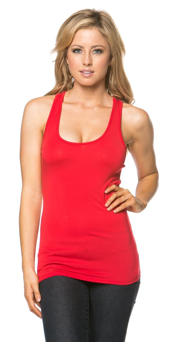 Beechwood Tank - available in black, red or taupe. The ULTIMATE layering tank! The key essentials to a good layering tank is 1. It needs to be fitted so you can layer without bulkiness 2. It needs to feel great since this is the layer against your skin. The beechwood tank fits the bill; made from 95% modal fabric this tank is basically made from little pieces of heaven. Seriously; I'm pretty sure its woven by cherubs. Modal is a type of rayon that is made from the fiber of Beech Wood Trees…
