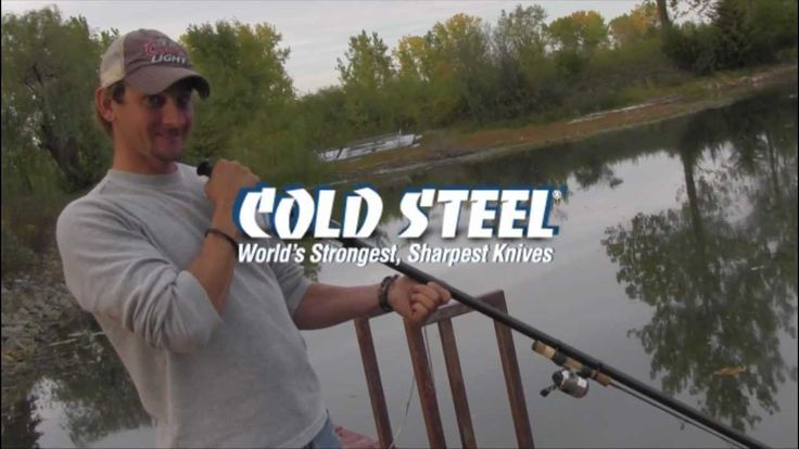 Cold Steel Blowgun fishing