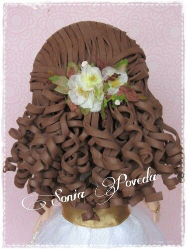 Peinado comunión Ainara https://www.facebook.com/FofuchasSoniaPoveda?ref=hl
